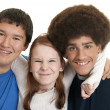 Royalty-Free Stock Photo: Ethnic teen friends