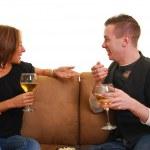 Couple talking — Stock Photo #1026140