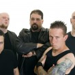 Heavy metal band — Stock Photo