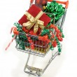 Royalty-Free Stock Photo: Shopping for christmas goodies