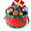 Royalty-Free Stock Photo: Christmas drum