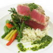 Royalty-Free Stock Photo: Tuna steak