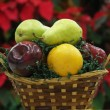 Stock Photo: Fruit basket