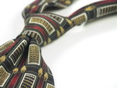 Knotted tie — Stock Photo