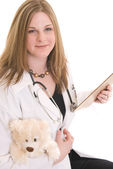 Pediatrician — Stock Photo