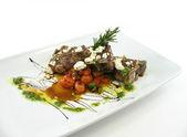 Lamb chops full view — Stock Photo
