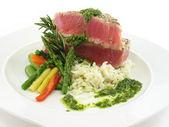 Tuna steak 2 — Stock Photo