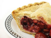 Berry pie close — Stock Photo