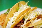 Tacos con frijoles refritos — Foto de Stock