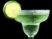 Top half of a margarita — Stock Photo