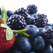 Mixed berries — Stock Photo #1030061