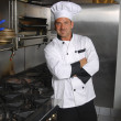 Foto Stock: Casual chef