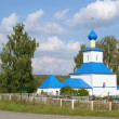 Orthodox rural temple — Stock Photo