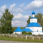 Orthodox rural temple — Stock Photo