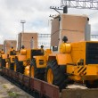 Stock Photo: Loaders
