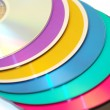 Royalty-Free Stock Photo: Colored compact disk