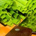 Fresh green onion — Stock Photo