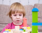 Playing child — Stock Photo
