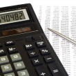 Royalty-Free Stock Photo: Tax calculation
