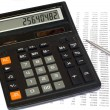 Stock Photo: Tax calculation