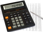 Tax calculation — Stock Photo
