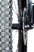 山地自行车轮胎 — 图库照片