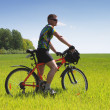 Bike tourist — Stock Photo #2618014