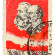 Postal stamp of USSR. - Photo