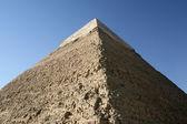 Wielkie piramidy egipskie w afryce. — Zdjęcie stockowe