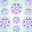 Violet pattern — Stock Photo