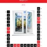 Постер, плакат: Calendar month