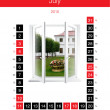 Calendar month — Stock Photo #1023702
