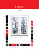 Calendar month — Stock Photo