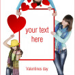 Valentines day - Stockfoto