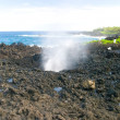 Stock Photo: Blowhole at Nakalele Point