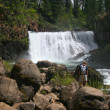 Shasta Lake Cascades - Stock Photo