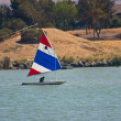 Sailing dinghy — Stock Photo