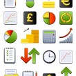 Royalty-Free Stock Vector Image: Financial icons