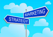 Index marketing, strategie — Stock vektor