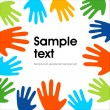 Royalty-Free Stock Vector Image: Color Hand