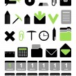 Royalty-Free Stock Vector Image: Office vector icon