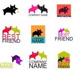 Постер, плакат: Animal logo