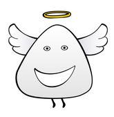 Happy angel — Stock Vector