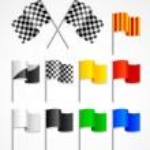 Sport flag — Stock Vector #1483678
