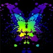 Royalty-Free Stock Imagem Vetorial: Ink blot