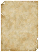 Old paper or parchment — Stock Photo