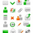 Office web icons — Stock Vector #1941466