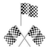 Checkered flag — Wektor stockowy