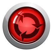 Arrows sign icon — Stock Vector