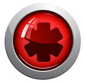 Medical symbol, vector icon — Stock Vector